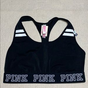NEW PINK Victoria's Secret Sports Crop Top ONLY